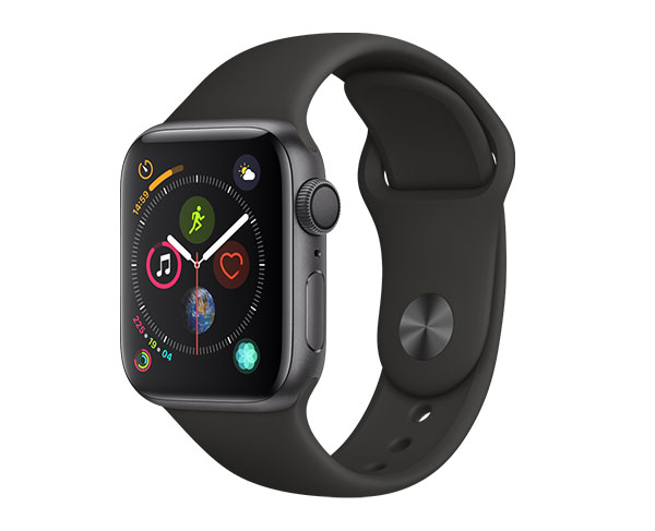 Apple Watch Series 4 GPS   Cellular 44mm - Stainless Steel Black