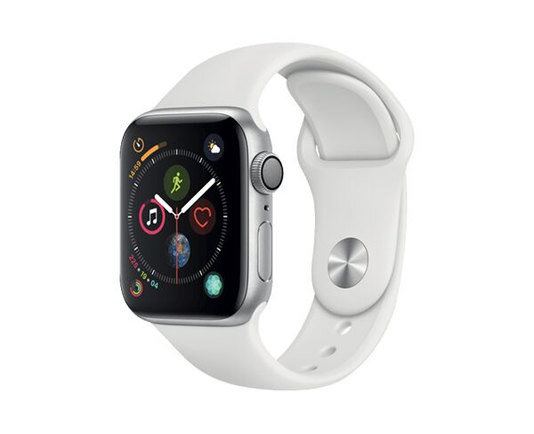 Apple Watch Series 4 GPS   Cellular 44mm - Stainless Steel White