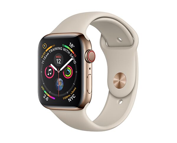 Apple Watch Series 4 GPS   Cellular 44mm - Stainless Steel Gold