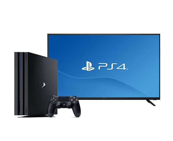 "Hitachi 40"" Full HD Smart TV & Sony Playstation 4 Pro bundle"