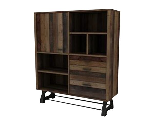 Distillery 3 Draw Highboard